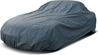 Autoplane Outdoor passend für Porsche 718 Cayman Abdeckplane Autogarage Schmutzabweisend Wasserabweisend für Winter & Sommer