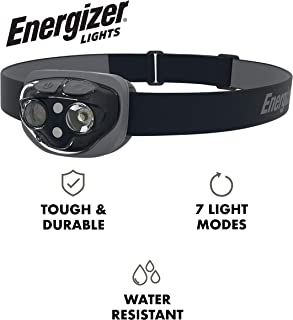 Energizer High-Powered LED Headlamp Flashlights, IPX4 Water Resistant, Super Bright LED,..