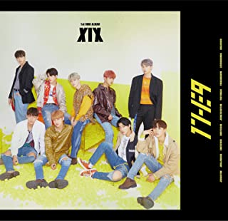 1st Mini Album: XIX Incl. 120-Page Photobook, 12pg Lyric Book, 2Photocards, 1 Special Card + 1 Standing Photo