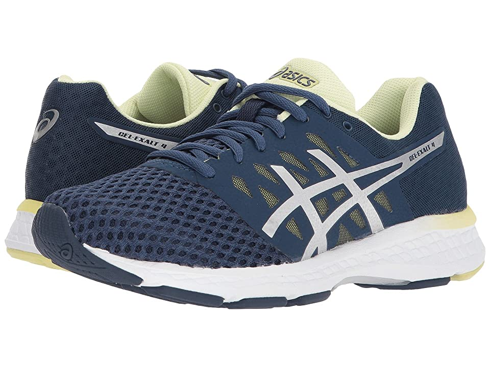 ASICS GEL-Exalt 4 (Dark Blue/Silver/Limelight) Women