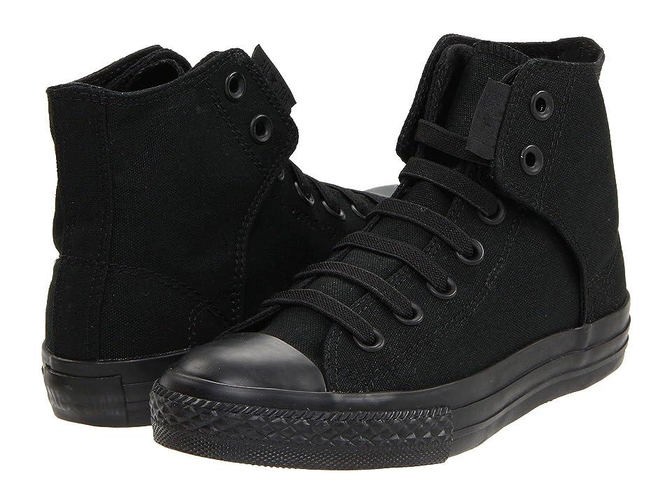 Converse Kids Chuck Taylor(r) All Star(r) Easy Slip (Little Kid/Big Kid) (Mono Black) Boys Shoes