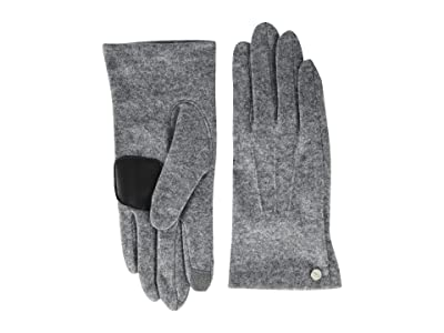 Echo Design Classic Touch Gloves Water Repellent (Heather Grey) Extreme Cold Weather Gloves