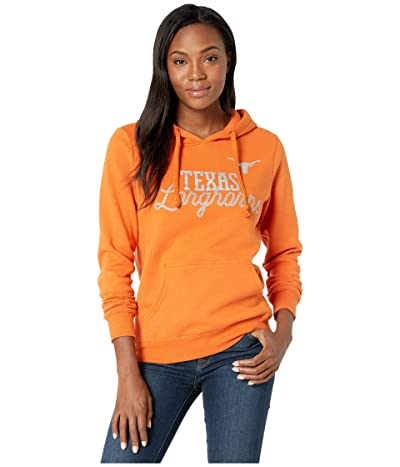289c Apparel Texas Longhorns Faun Rhinestone Hoodie (Texas Orange) Women