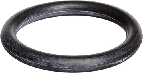 "417 Buna-N O-Ring, 70A Durometer, Round, Black, 3-1/2"" ID, 4"" OD, 1/4"" Width (Pack of 10)"