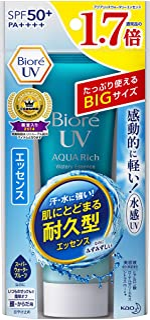 【大容量】ビオレUV アクアリッチウォータリエッセンス 85g (通常品の1.7倍) SPF50+/PA++++