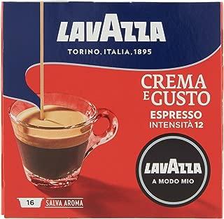 Lavazza Capsule Caffè A Modo Mio Crema e Gusto - 2 confezioni da 16 capsule [32 capsule]