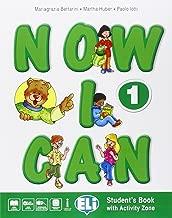 Now I can. Per la Scuola elementare. Con e-book. Con espansione online [Lingua inglese]: 1