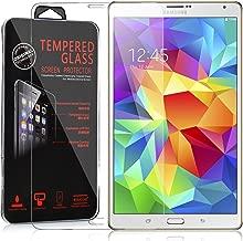 Cadorabo Pellicola Protettiva per Samsung Galaxy Tab S (8,4 Zoll) in Elevata TRASPARENZA – Vetro Temprato Blindato per Display 0,3mm con Angoli Arrotondati