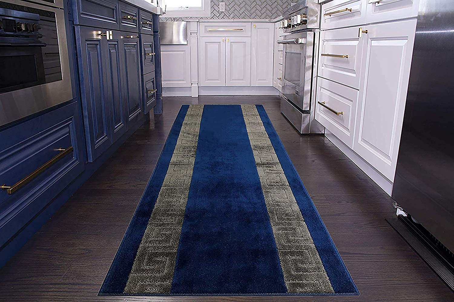 Custom Direct stock discount Size Runner Factory outlet Rug Meander Roll inch L x Wide 36 Your