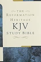 The Reformation Heritage KJV Study Bible - Hardcover