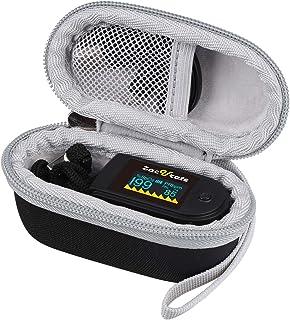 Aproca Hard Travel Storage Case for Innovo Deluxe iP900AP/Zacurate Pro Series Deluxe Fingertip Pulse Oximeter Blood Oxygen...