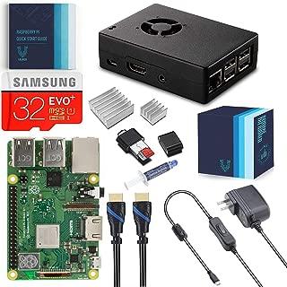 Vilros Raspberry Pi 3 Model B+ (Plus) Complete Starter Kit with Fan Cooled-Heavy Duty Aluminum Case