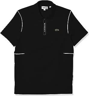 Men's Sport Short Sleeve Zip Jersey Polo Shirt