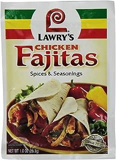 Lawrys Chicken Fajita Seasoning Mix 3 Pack