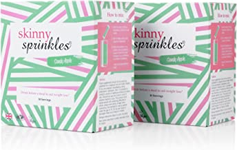 Skinny Sprinkles Duo Saver Pack – Appetite Suppressant Weight Loss Drink – 60 Servings Estimated Price : £ 34,98