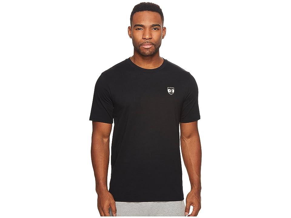 Men Shirt with Black Dress Converse