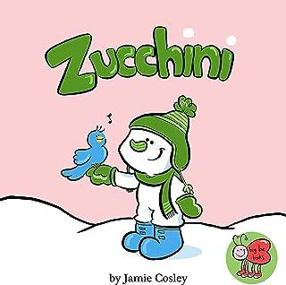 Zucchini the Snowman