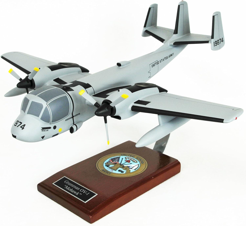 Mastercraft Collection Grumman OV-1 Mohawk Model Scale 1 32