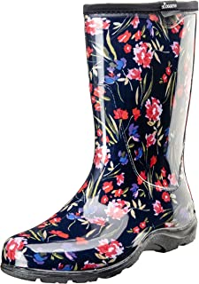 Sloggers 5019FCNV09 Fresh Cut Navy Sz 9 Wo'S Waterproof Comfort Boot