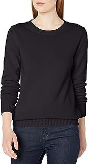 Women's 100% Cotton Crewneck Sweater