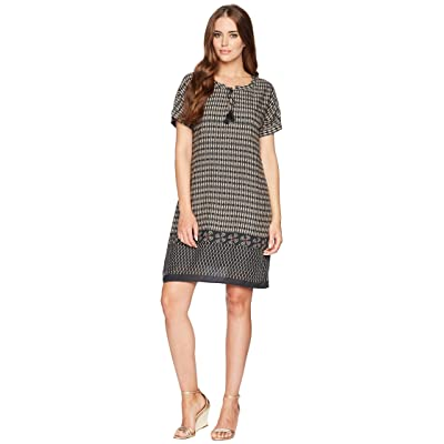 Dylan by True Grit Modern Gypsy Short Sleeve Dress with Lining and Pockets (Black) Women