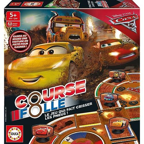 Educa Borrás - 17331.0 - Jeu Cars 3 Crazy 8