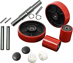 Pallet Jack/Truck Full Set RED with Axles, Steering Wheels 7