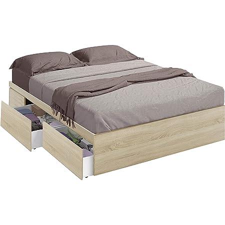 Habitdesign 006088F- Cama con 4 cajones para somier de ...