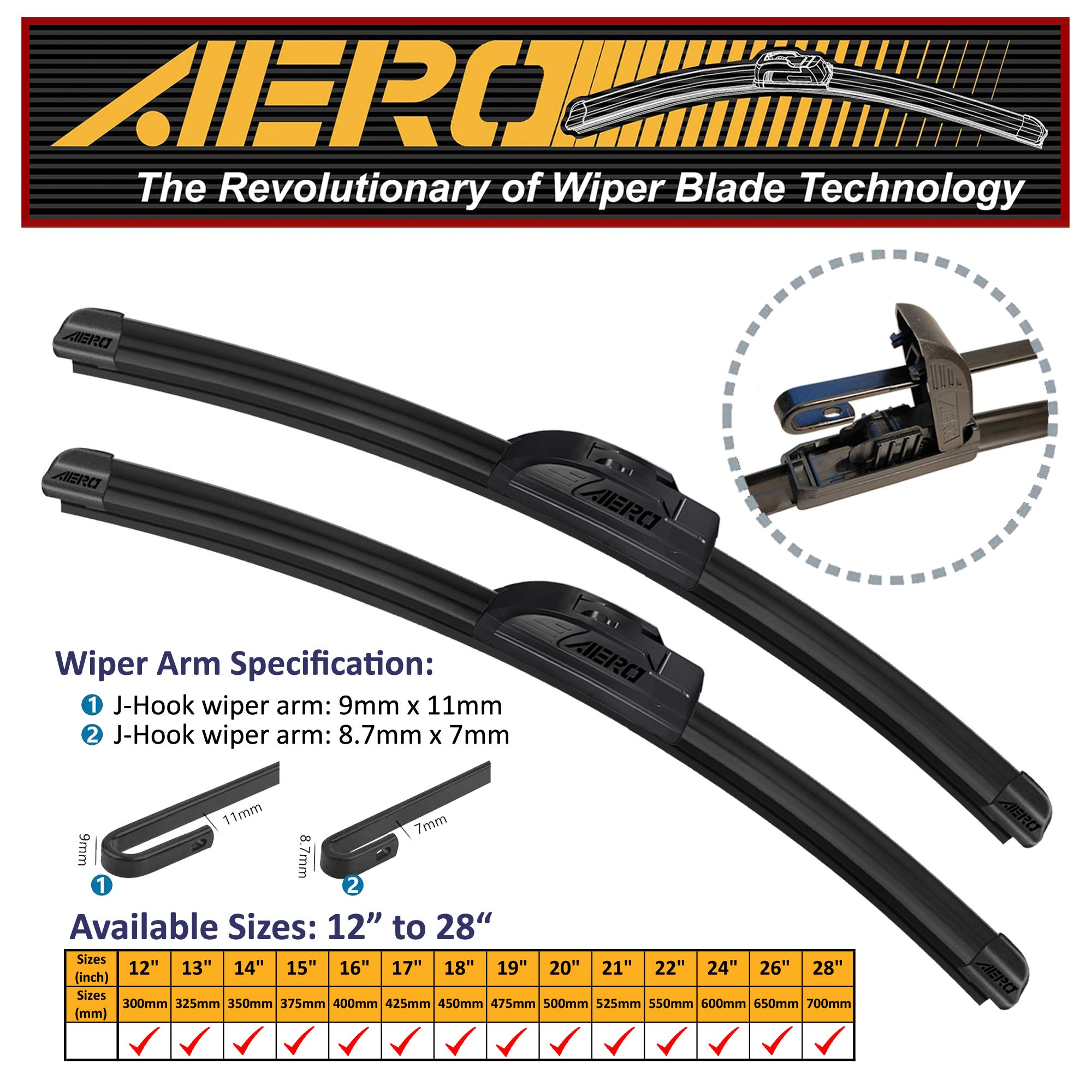 26 TRICO Gold All Weather Beam Wiper Blades 16 Pack of 2