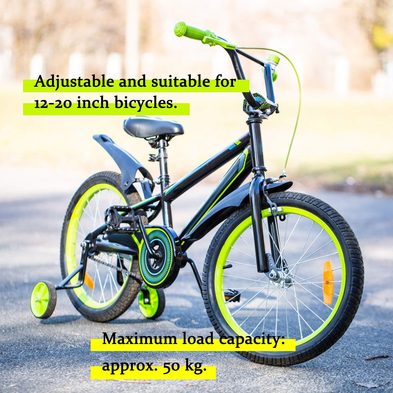 Weekend&Lifecan ruedines Bicicleta Infantil Universal, Entrenamiento Ruedines Niños,Bicicleta Estabilizador Ruedas, Ruedas de Entrenamiento para Niños (yellow-06): Amazon.es: Deportes y aire libre