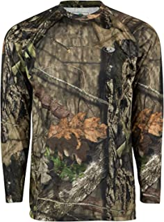 Mossy Oak Camo Performance Long Sleeve Tech Hunting Shirt