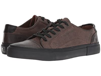 Frye Ludlow Cap Lowlace (Grey Waxed Veg Tan) Men