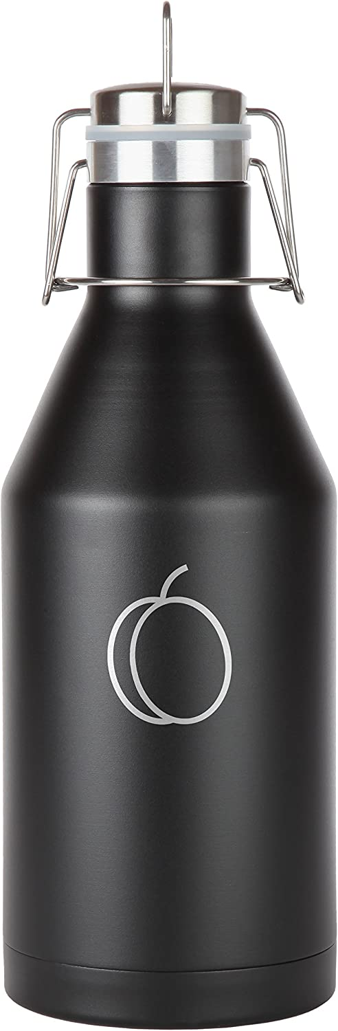 Apricot safety Stainless Steel Beer Growler. 64 Oz Se Many popular brands Vacuum Leak Proof