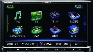 パナソニック カーナビ ストラーダ CN-RA04D 無料地図更新 フルセグ/VICS WIDE/SD/CD/DVD/USB/Bluetooth 7V型 CN-RA04D