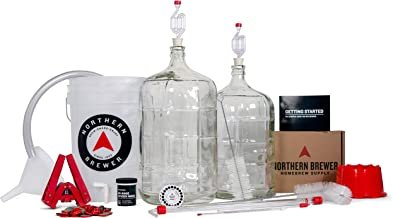 Northern Brewer Deluxe Homebrew Starter Kit, Equipment and 5 Gallon Recipe (Bavarian Hefeweizen)