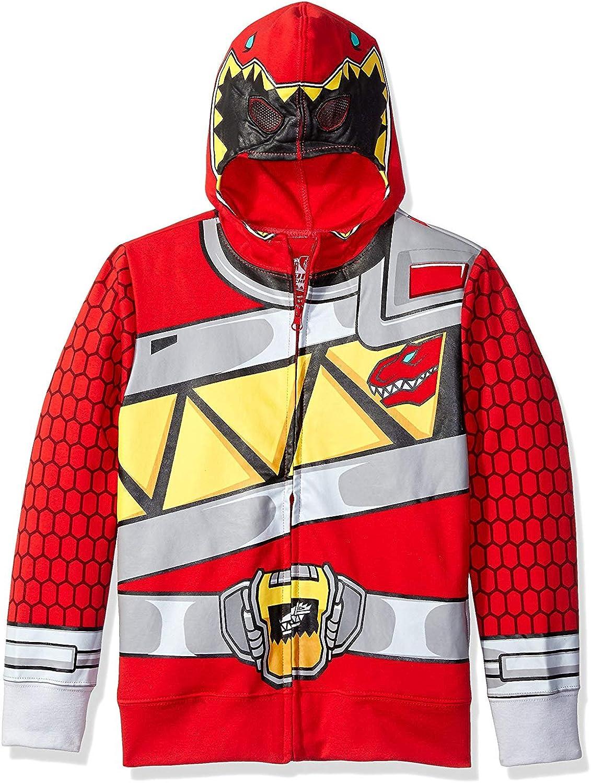 Power Rangers Milwaukee Mall Little Red Ranger Costume 4-7-Sa shipfree Sizes Hoodie-Boys