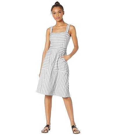 BCBGMAXAZRIA Striped Knit Dress (Black Combo) Women