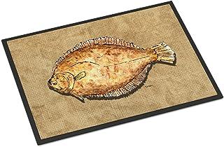 Caroline's Treasures 8821JMAT Flounder Indoor or Outdoor Mat 24x36, 24H X 36W, Multicolor