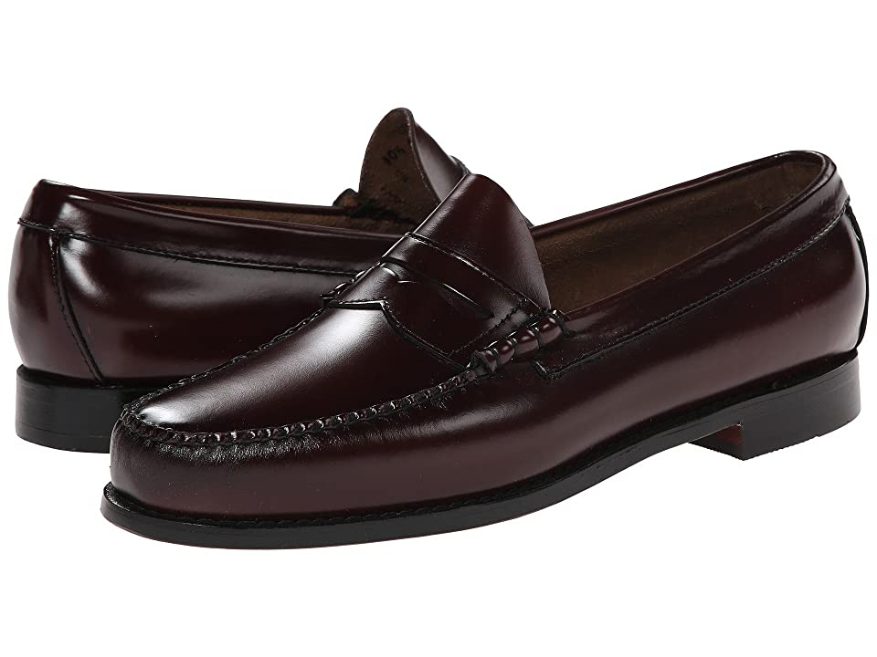 G.H. Bass & Co. Larson Weejuns (Burgundy Box Leather) Men