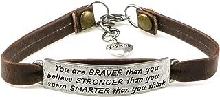 leather bracelet for her