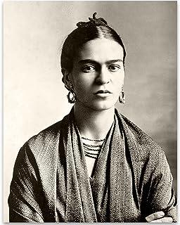 Lone Star Art Frida Kahlo Wrap Photo - 11x14 Unframed Print - Perfect Vintage House Decor