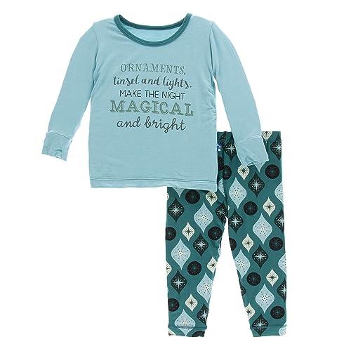 124a9a90ca Kickee Pants Print Short Sleeve Pajama Set