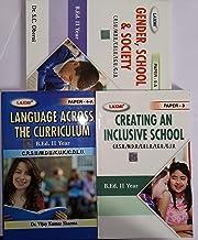 Language Across The Curriculum, Creating An Inclusive School, Gender School & Society in English Medium
