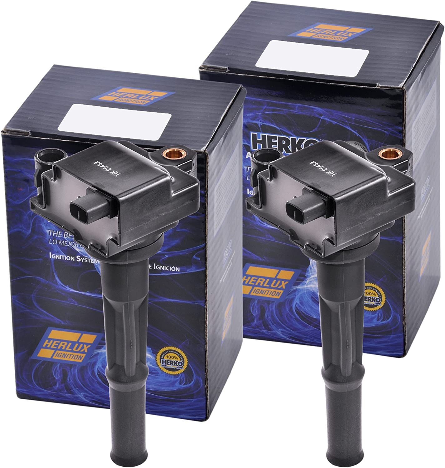 Set of 2 Herko B101 Ignition Coil L4 1995-1999 For Sale Special Price Toyota Max 58% OFF 1.5L