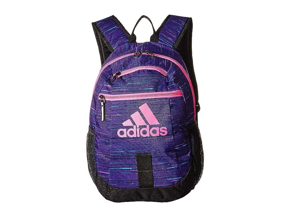 adidas Creator Backpack (Little Kids/Big Kids) (Unity Purple Visionary/Black/Shock Pink) Backpack Bags
