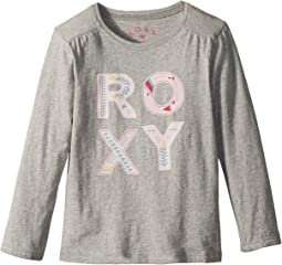 Roxy Kids Love Is Blind Long Sleeve Tee (Toddler/Little Kids/Big Kids)