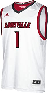 adidas Men's NCAA Louisville Replica Basketball Jersey