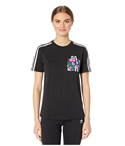 adidas Originals Trefoil Tee (Multicolor) Women