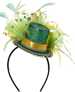 St. Patrick's Day Feathered Headband