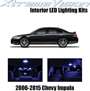 XtremeVision Interior LED for Chevy Impala 2006-2015 (16 Pieces) Blue Interior LED Kit + Installation Tool Tool